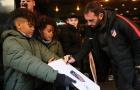 Atletico được chào đón nồng nhiệt trên đất Đan Mạch
