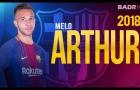 Arthur Melo - 'Xavi mới' của Barcelona?