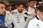 Messi 'buồn thiu' hành quân đến Madrid