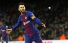 Lionel Messi lập hat-trick, Barca 'rung đùi' chờ trận derby Madrid