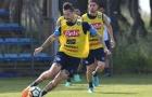 Napoli tập luyện sung sức, đợi Inter cầm chân Juventus