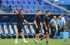 Tập luyện cật lực, Cavani quyết tâm sút tung lưới tuyển Nga