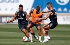 Sergio Ramos, Casemiro 'thử giò' Ronaldo mới