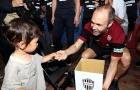 Andres Iniesta vận động gây quỹ từ thiện giúp đỡ nạn nhân trong vụ động đất