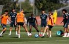 Real Madrid tập luyện cật lực trước nhiệm vụ bảo vệ ngôi vương