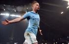 De Bruyne tái xuất, Man City bắt đầu chinh phạt nước Anh