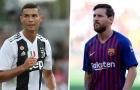 Số liệu minh chứng QBV 2018 vẫn chỉ là cuộc chơi giữa Messi và Ronaldo