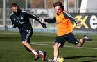 Sau niềm vui Quả bóng vàng, Modric trở lại hình ảnh điềm đạm thường ngày