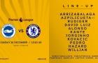 TRỰC TIẾP Brighton vs Chelsea: Đội hình ra sân