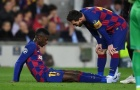 Gặp đại hạn, Barca mất tiền đạo 10 tuần vì chấn thương