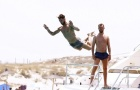 Chạy trốn truyền thông, Ramos bay lượn như chim ở Ibiza