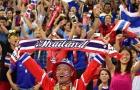 Lượng CĐV Thái Lan sang Mỹ Đình tăng gấp đôi