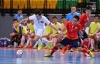 Futsal Việt Nam nã 13 bàn vào lưới Lào tại giải Đông Nam Á