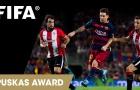 Siêu phẩm giúp Lionel Messi tranh giải Puskas 2015