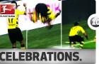 10 pha ăn mừng kinh điển nhất Bundesliga