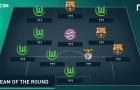 Đội hình tiêu biểu tứ kết lượt đi Champions League: Wolfsburg áp đảo hoàn toàn