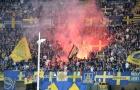 Dù rớt hạng, Verona vẫn ăn mừng chiến thắng để chia tay Luca Toni