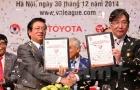 Toyota ngừng hợp tác, V-League mất 40 tỷ/năm
