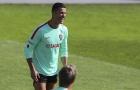 Ronaldo tập sung sức, sẵn sàng bùng nổ