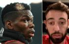 Fernandes nói gì khi sắp đá cạnh Pogba ở M.U?