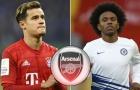 Hoàn tất HĐ Willian, Arsenal chờ ký Coutinho