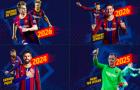 CHÍNH THỨC! Barcelona cùng lúc công bố 4 bản HĐ mới
