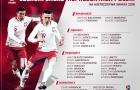 Ba Lan mang đội hình mạnh nhất dự World Cup 2018