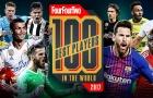 Messi dẫn đầu top 10 màn trình diễn cá nhân hay nhất 2017