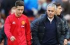 Herrera biến khỏi MU vì xung khắc với Mourinho