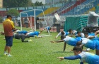 Sài Gòn FC hăng hái tập luyện, chờ quyết đấu Than Quảng Ninh
