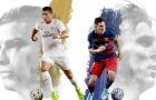 Vì sao Messi thua Ronaldo về bàn thắng trong năm 2018?