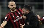Bonucci được PSG, MU tăm tia, Gattuso nhất quyết không níu kéo