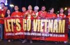 NHM Sài Thành phủ kín đường Lê Duẩn, cháy hết mình cùng ĐT Việt Nam