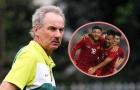 HLV Alfred Riedl nói điều thật lòng về sức mạnh giữa U23 Việt Nam và U23 Indonesia