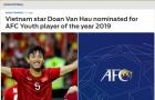 Báo châu Á công nhận 1 điều về Văn Hậu khi lọt vào top 3 châu Á