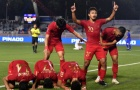 Hạ gục Singapore, Indonesia san bằng cách biệt điểm số với U22 Việt Nam