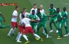 Pha phối hợp đá phạt góc lạ lùng của tuyển Senegal