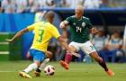 Sau Neymar, đến lượt mái tóc 'tắc kè hoa' của Chicharito bị chế giễu
