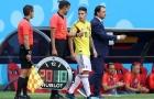 James Rodriguez lu mờ trong ngày Nhật Bản quật ngã Colombia