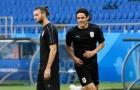 Hy vọng lớn nhất hàng công Uruguay cười tươi rói trước ngày thi đấu