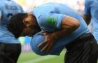 Suarez tỉnh giấc mang Uruguay và Nga vào vòng 16 đội