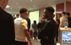 Jadon Sancho nói gì với Hudson-Odoi khi tập trung đội tuyển Anh?