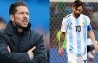 Simeone: 'Messi rất giỏi nhưng Ronaldo...'