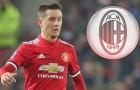 Sao thất sủng của M.U lọt vào tầm ngắm AC Milan