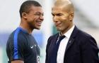 NÓNG: Zidane lên tiếng về việc mua Mbappe