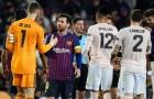 SỐC: Thắng trận, Messi không thèm bắt tay 1 cầu thủ M.U