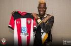 CHÍNH THỨC: Tân binh đầu tiên ra mắt Southampton
