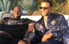 Đạt thỏa thuận rời M.U, Lukaku cười tươi rói cùng 'kẻ vạch mặt Quỷ Đỏ'