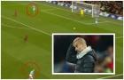 SỐC! Pep Guardiola 'đứng hình' bất lực, không tin nổi pha xử lý ấm ớ của học trò