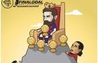 Cười vỡ bụng với loạt ảnh chế Messi đoạt Quả bóng vàng